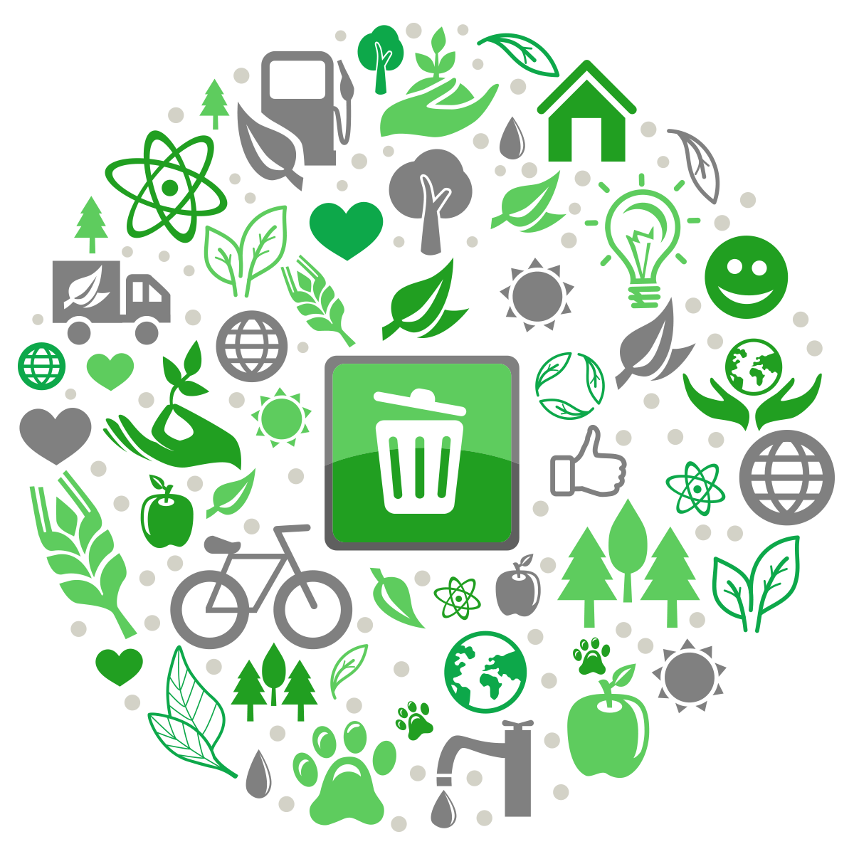 Recycle-points-icons